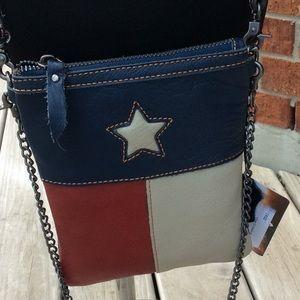 Genuine Leather Texas Crossbody Purse